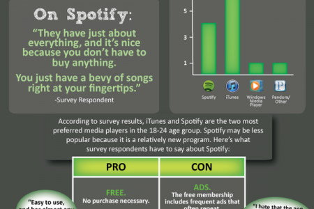 Spotify Research Infographic Infographic