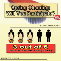 Spring Cleaning Tips Infographic
