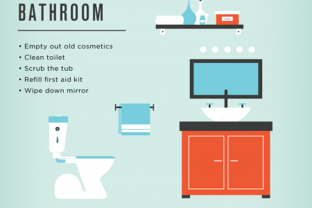 Spruce Up For Spring: Your Spring Cleaning Strategy Infographic