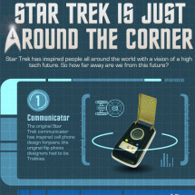 Star Trek is just Around the Corner Infographic