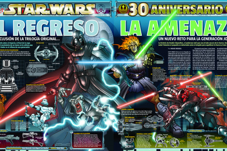 Star Wars 30 aniversario Infographic