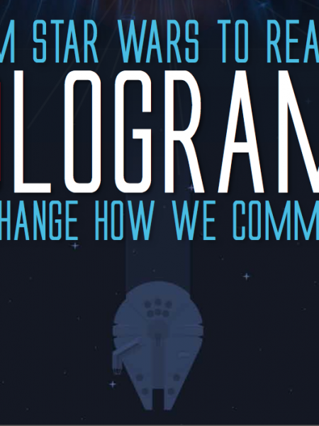 Star Wars Inspired Hologram Phones Infographic