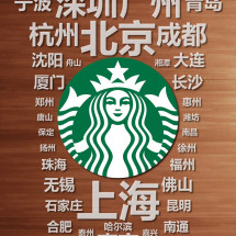 STARBUCKS@China Mainland Infographic