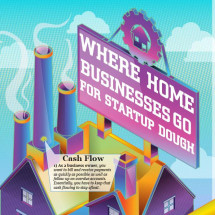 Startup Dough For Home Businesses Infographic
