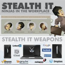 Stealth IT: Ninjas in the Workplace Infographic