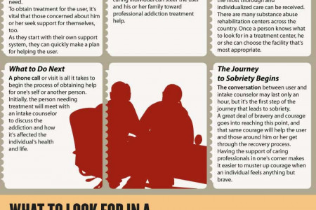 Step-By-Step Guide To Addiction Treatment Infographic