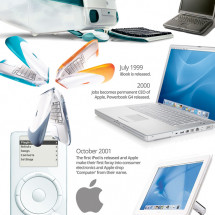 Steve Jobs (1955-2011) Infographic