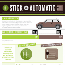 Stick vs Automatic Infographic