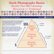 Stock Photography Basics Infographic