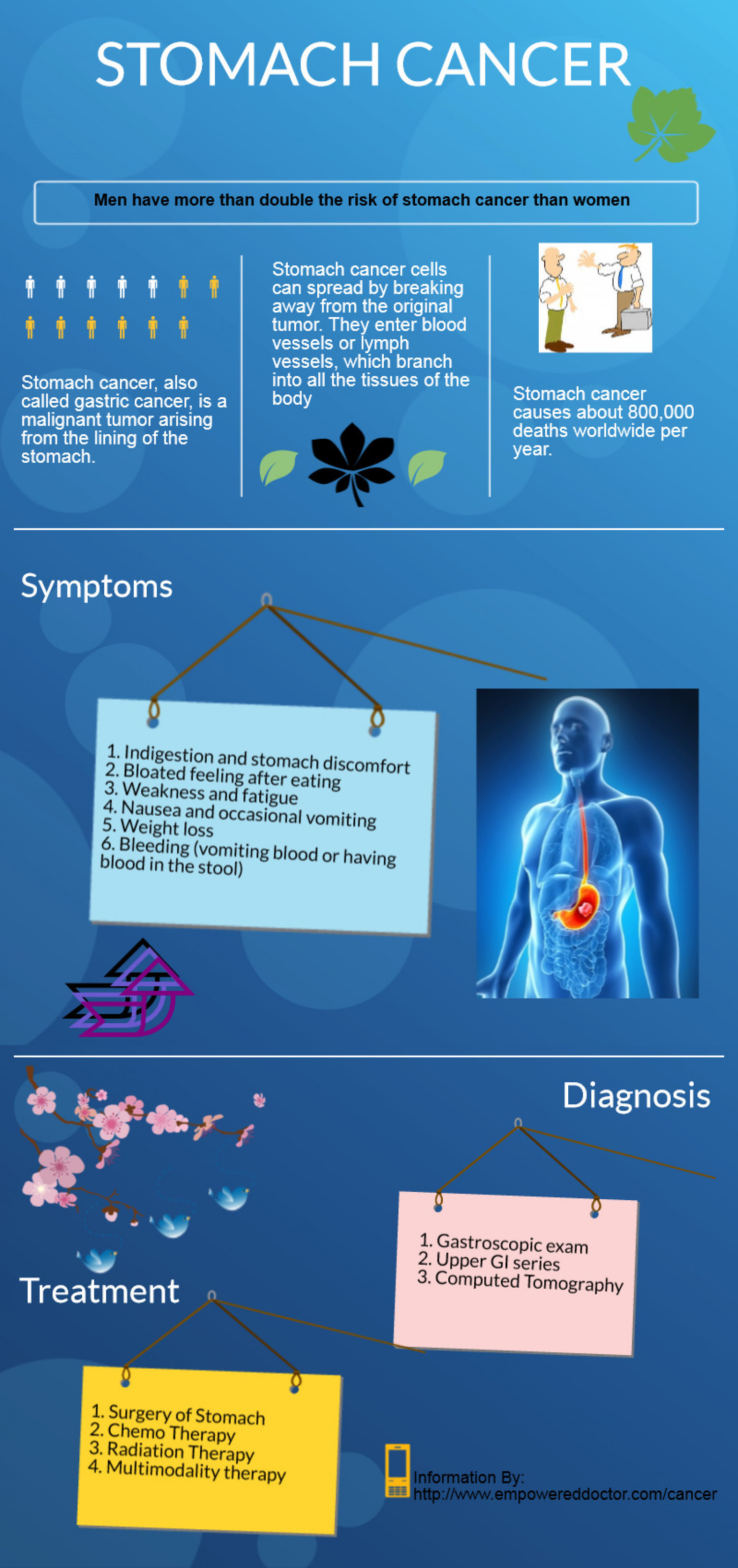 Stomach Cancer Infographic