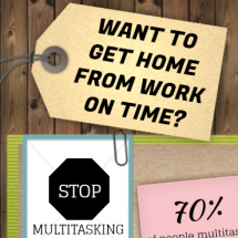 Stop Multitasking! Infographic