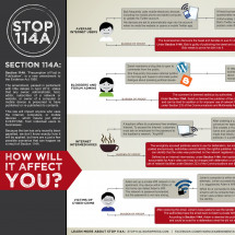 Malaysian Stop Section 114A, Infographic How It will Affect You Infographic