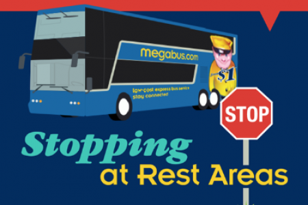 Stopping At Rest Areas Infographic