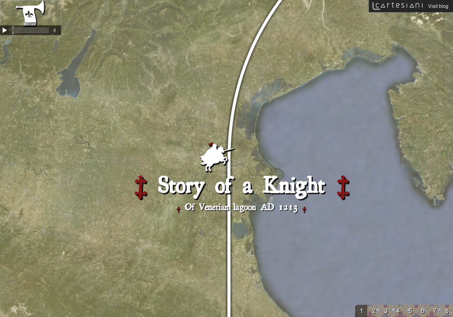 Story of a Knight Infographic