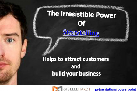 Storytelling - The Irresistible Power Helps To Build Your Business Infographic