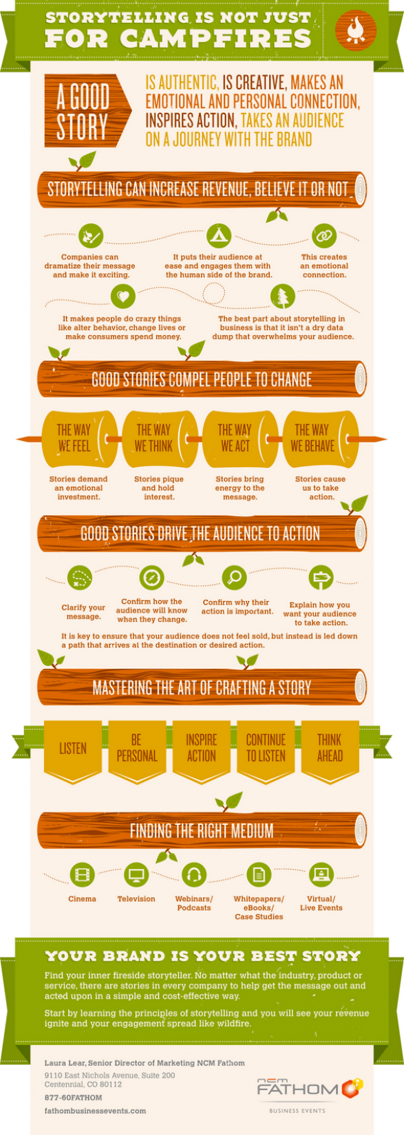 Storytelling is Not Just for Campfires