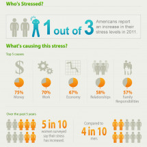 Stress in ruining my life! Infographic