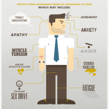 Stress Less Infographic
