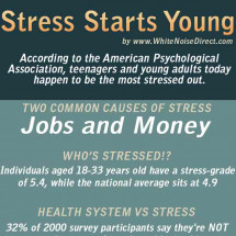 Stress Starts Young Infographic
