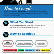 Students - Get the Most Out of Google for Research Infographic