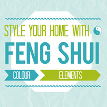 Style Your Home with Feng Shui Infographic