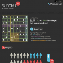 Sudoku w Polsce 2012 Infographic