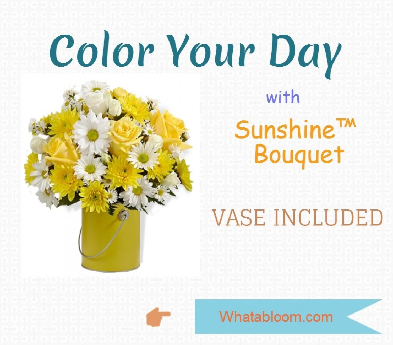 Summer Flowers - Color Your Day  Infographic