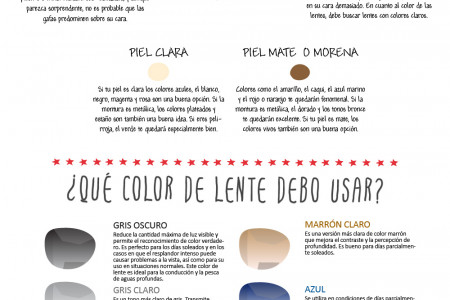 Sunglasses Gafanet Infography Infographic