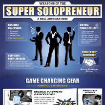 Super Solopreneur Infographic