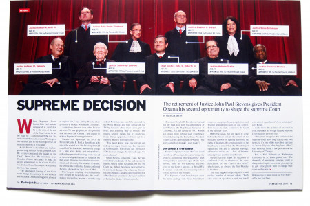 Supreme Court Infographic