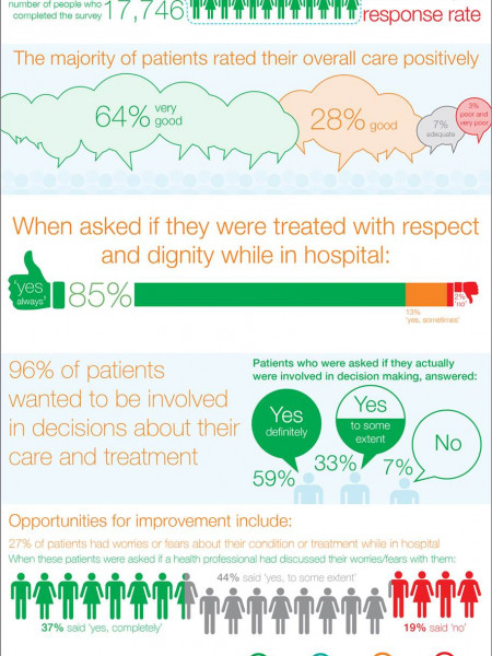 NSW Adult Admitted Patient Survey  Infographic