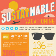 SuSTAYnable Vacationing Infographic