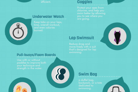 Swimming Essentials for Begginers Infographic
