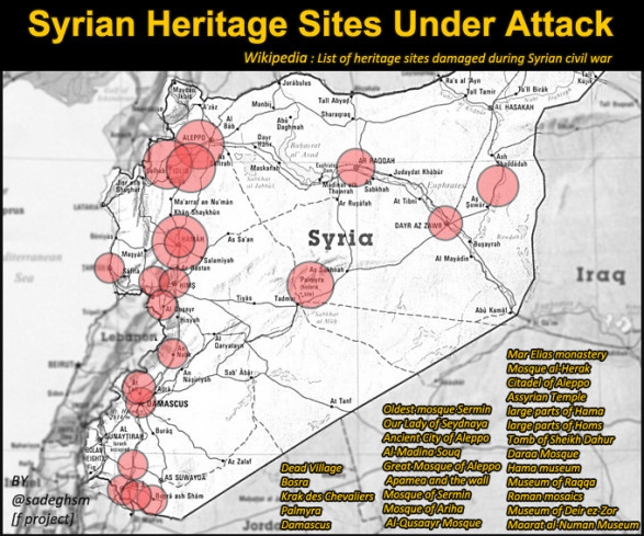 Syrian Heritage Sites Under Attack