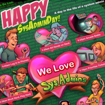 SysAdmin Appreciation Day Infographic