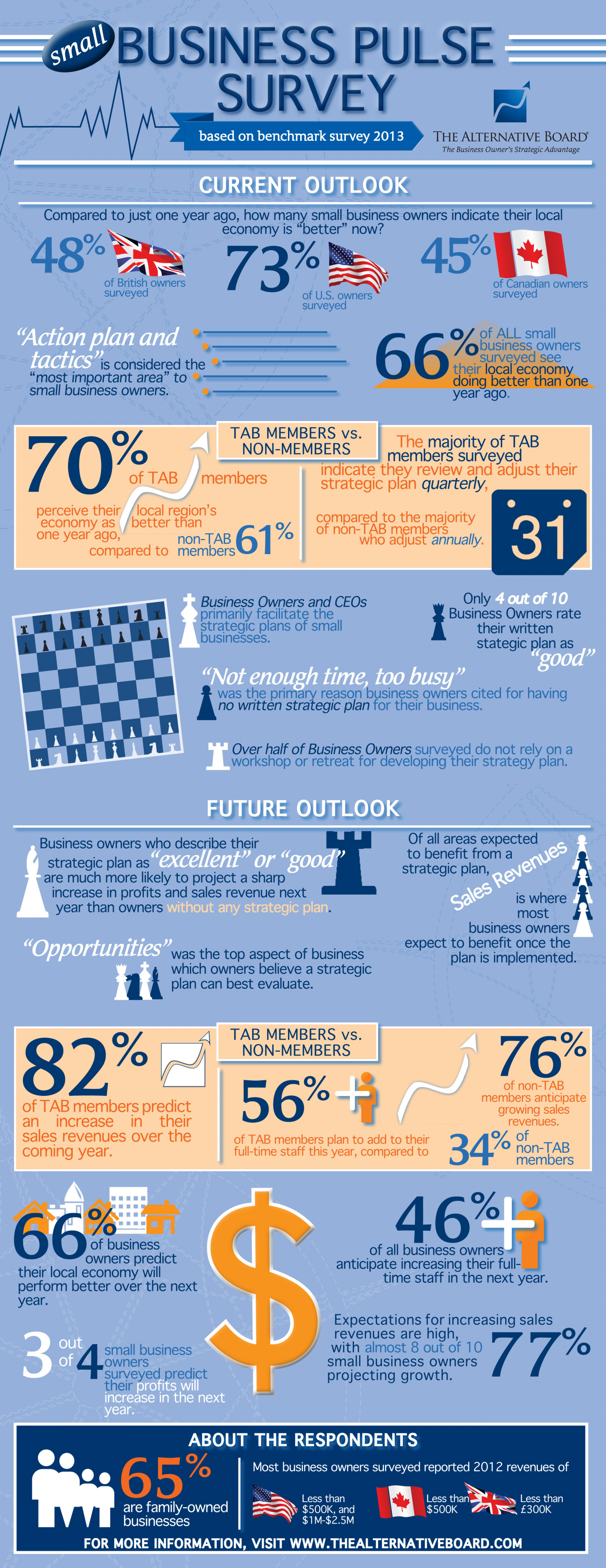 TAB Small Business Pulse Survey (Strategic Planning) Infographic