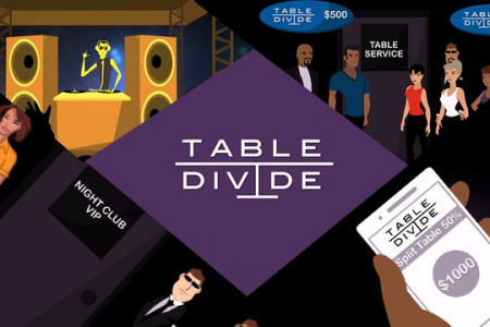 Table Divide App Demo Video Infographic