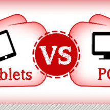 Tablets vs. Computers Infographic