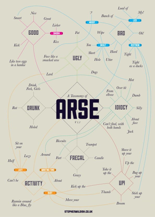 Taxonomy of Arse Infographic