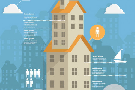 template infographic Real Estate Infographic