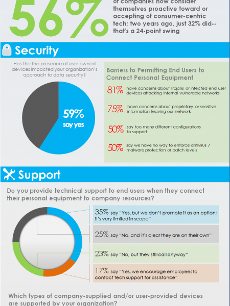 BYOD In the Enterprise Infographic