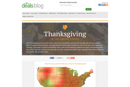 Thanksgiving in the United States - Flipbook Infographic