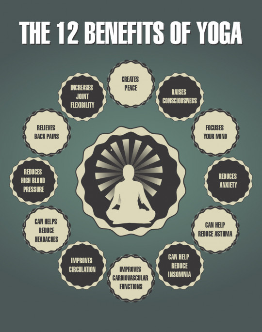 The 12 Benefits of Yoga