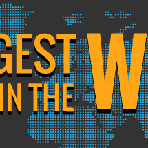 The 5 Largest Data Centers In the World Infographic