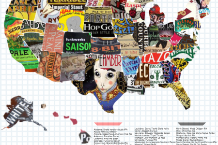 The 50 States of Beer  Infographic