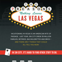 The 7 Reasons Nothing Leaves Las Vegas Infographic