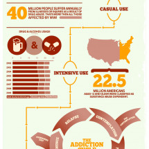 The Addiction Process: How We Get Addicted Infographic