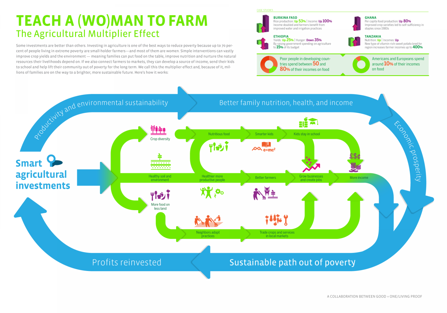 The Agricultural Multiplier Effect Infographic
