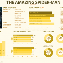 The Amazing Spider-Man Infographic