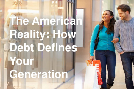The American Reality: How Debt Defines Your Generation Infographic